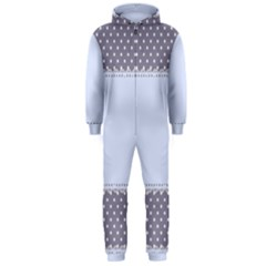 Blue Modern Hooded Jumpsuit (Men)