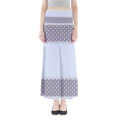 Blue Modern Maxi Skirts