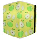 Apples Apple Pattern Vector Green Samsung Galaxy Tab 8.9  P7300 Flip Case View4