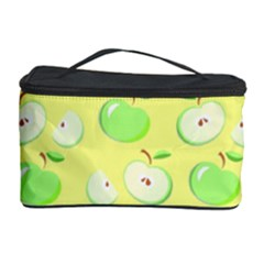 Apples Apple Pattern Vector Green Cosmetic Storage Case
