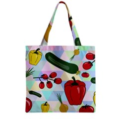 Vegetables Cucumber Tomato Grocery Tote Bag