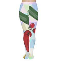 Vegetables Cucumber Tomato Women s Tights