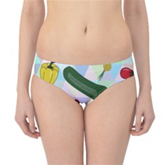 Vegetables Cucumber Tomato Hipster Bikini Bottoms