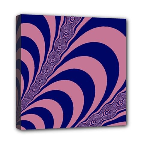 Fractals Vector Background Mini Canvas 8  X 8