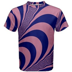 Fractals Vector Background Men s Cotton Tee