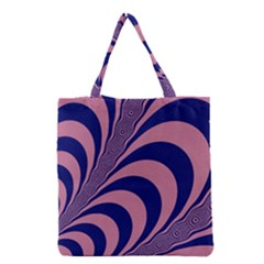 Fractals Vector Background Grocery Tote Bag
