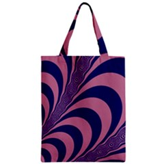 Fractals Vector Background Zipper Classic Tote Bag