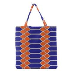 Pattern Design Modern Backdrop Grocery Tote Bag