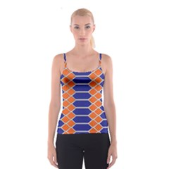 Pattern Design Modern Backdrop Spaghetti Strap Top