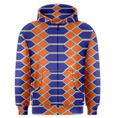 Pattern Design Modern Backdrop Men s Zipper Hoodie