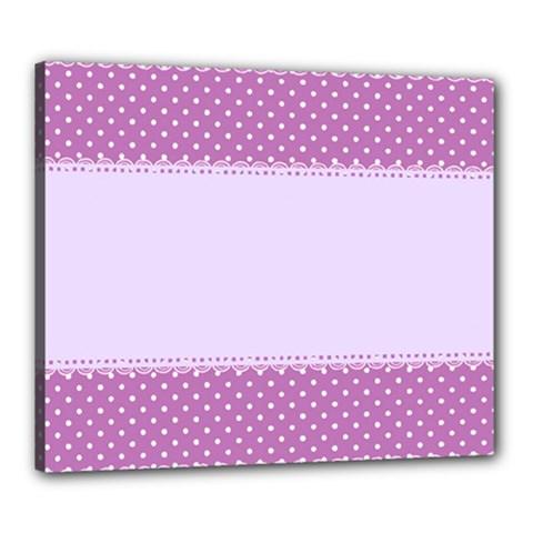Purple Modern Canvas 24  x 20