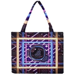 Abstract Sphere Room 3d Design Mini Tote Bag