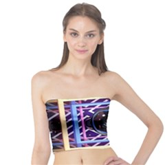 Abstract Sphere Room 3d Design Tube Top