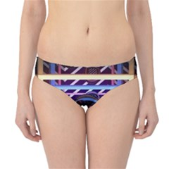 Abstract Sphere Room 3d Design Hipster Bikini Bottoms