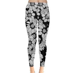 Mandala Calming Coloring Page Leggings
