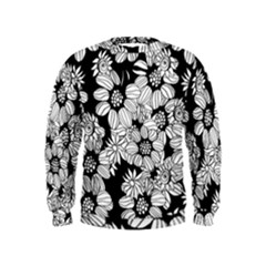 Mandala Calming Coloring Page Kids  Sweatshirt