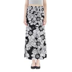 Mandala Calming Coloring Page Maxi Skirts