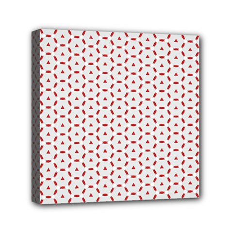 Motif Pattern Decor Backround Mini Canvas 6  X 6