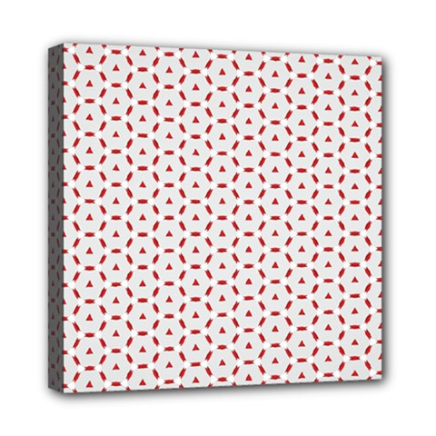 Motif Pattern Decor Backround Mini Canvas 8  X 8