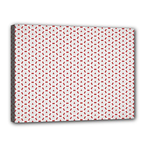 Motif Pattern Decor Backround Canvas 16  X 12