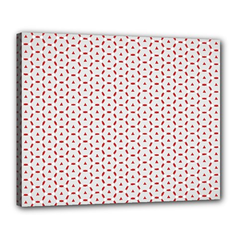 Motif Pattern Decor Backround Canvas 20  X 16