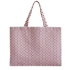 Motif Pattern Decor Backround Zipper Mini Tote Bag