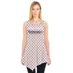 Motif Pattern Decor Backround Sleeveless Tunic