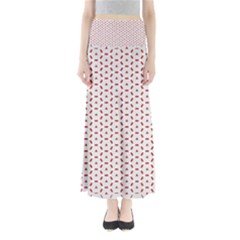 Motif Pattern Decor Backround Maxi Skirts