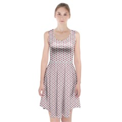 Motif Pattern Decor Backround Racerback Midi Dress