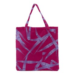 Background Vector Texture Pattern Grocery Tote Bag