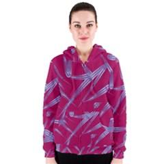 Background Vector Texture Pattern Women s Zipper Hoodie