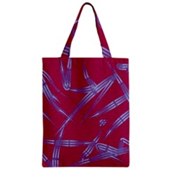 Background Vector Texture Pattern Zipper Classic Tote Bag