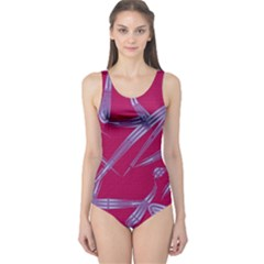 Background Vector Texture Pattern One Piece Swimsuit
