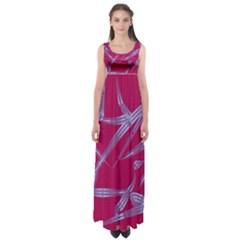 Background Vector Texture Pattern Empire Waist Maxi Dress