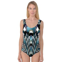 Abstract Art Design Texture Princess Tank Leotard