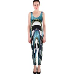 Abstract Art Design Texture OnePiece Catsuit