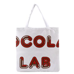 Choc Lab Canadian Flag In Name Grocery Tote Bag