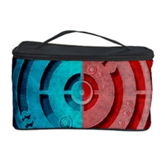 Vector Watch Texture Red Blue Cosmetic Storage Case