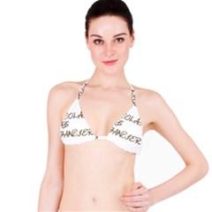 Choc Lab Fancier Bikini Top