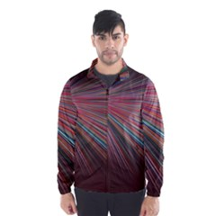 Pattern Flower Background Wallpaper Wind Breaker (men)