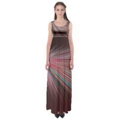 Pattern Flower Background Wallpaper Empire Waist Maxi Dress