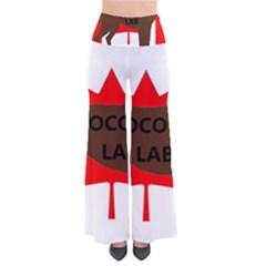 Chocolate Labrador Retriever Name Silo Canadian Flag Pants