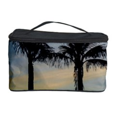 Palm Trees Against Sunset Sky Cosmetic Storage Case