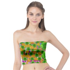 Jungle Love In Fantasy Landscape Of Freedom Peace Tube Top