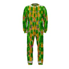 Jungle Love In Fantasy Landscape Of Freedom Peace OnePiece Jumpsuit (Kids)