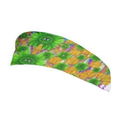 Jungle Love In Fantasy Landscape Of Freedom Peace Stretchable Headband
