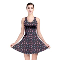 Abstact 02 170324 Reversible Skater Dress