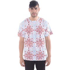 Snow Pattern 3 170505 Men s Sport Mesh Tee