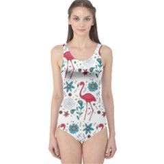 Flamingo One Piece Swimsuit