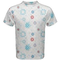 Snow Pattern C2  170505 Men s Cotton Tee